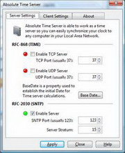 absolute time server, 5.4